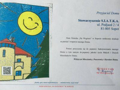 """Przyjaciel Domu - Dom dziecka """"na wzgórzu"""" w Sopocie"""